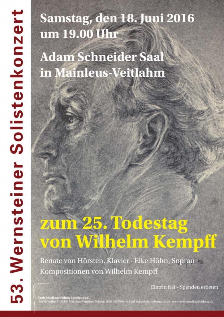Solistenkonzert Wernstein